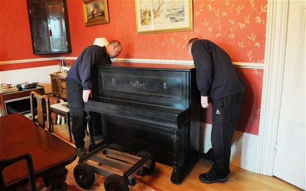 Piano Removal of Upright Pianos